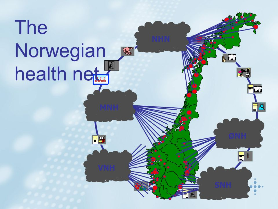 Rekvisisjon The Norwegian health net NHN MNH VNH SNH ØNH