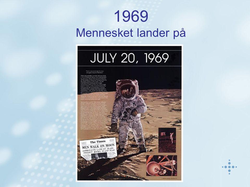1969 Mennesket lander på