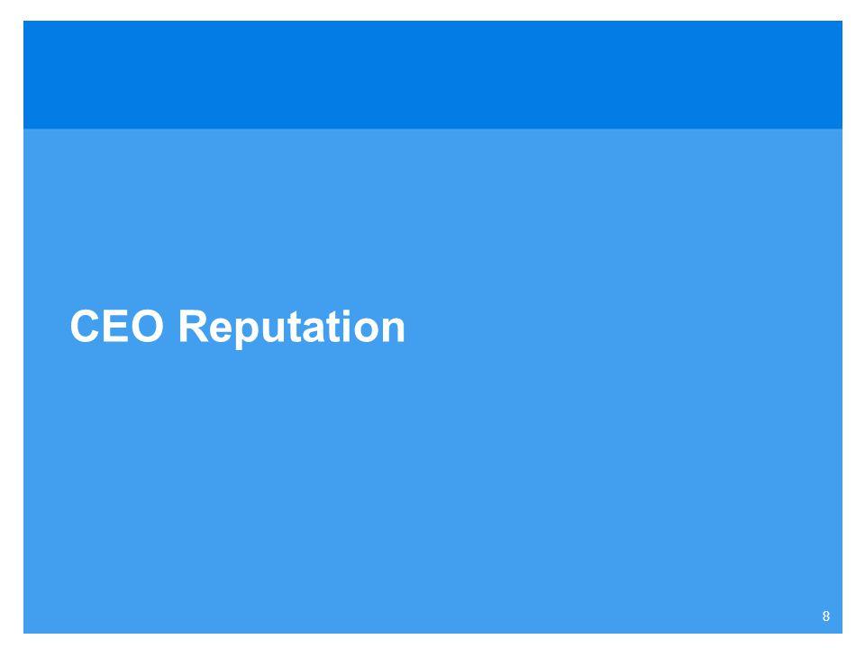 8 CEO Reputation