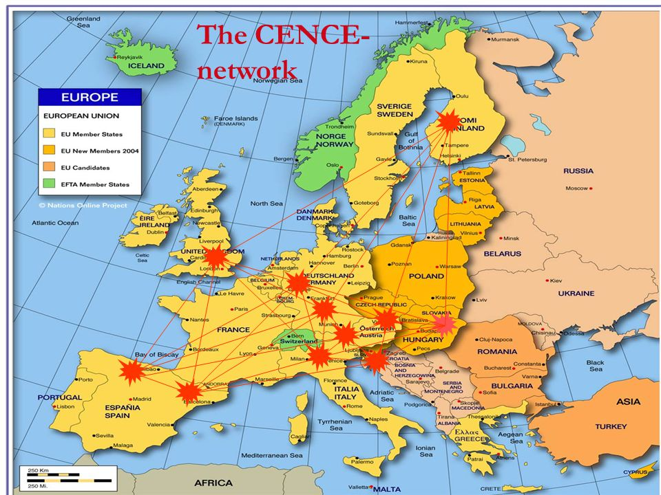 The CENCE- network
