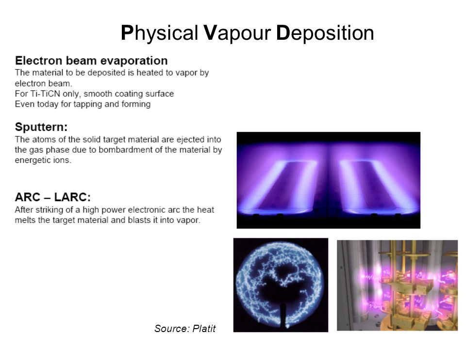 Physical Vapour Deposition Source: Platit