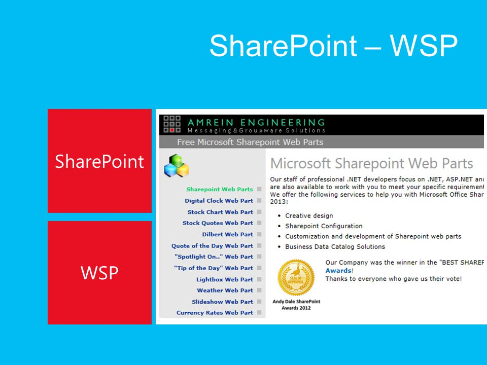 SharePoint – WSP SharePoint WSP