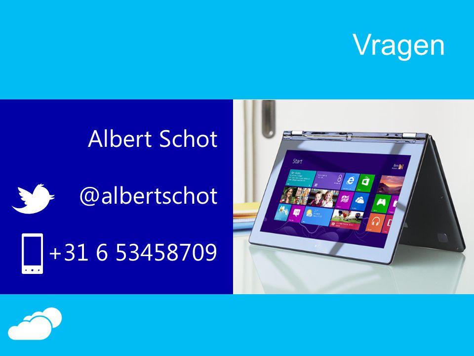 Vragen Albert Schot @albertschot +31 6 53458709