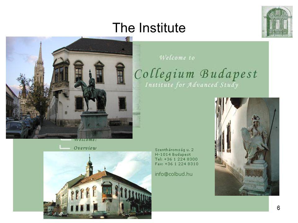 February 6, 2007ALife modeling of evolution6 The Institute