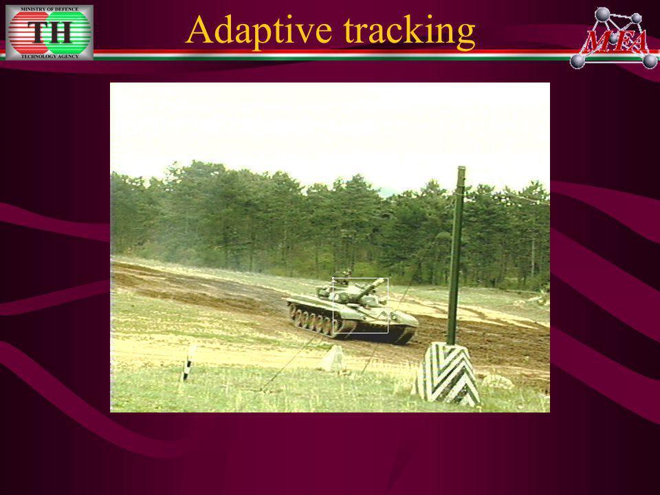 Adaptive tracking