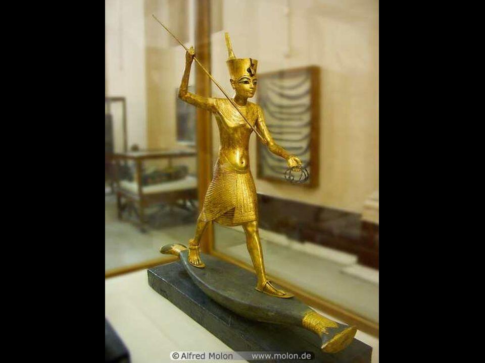 Tutankhamun and Menkau Re