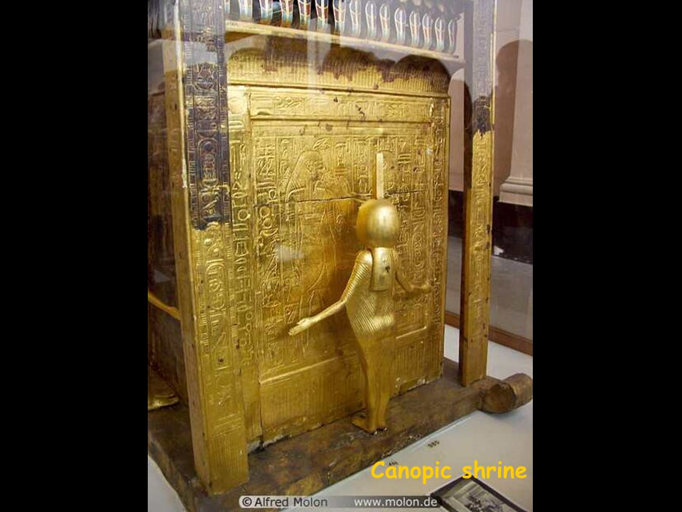 The innermost coffin Sarcophagus