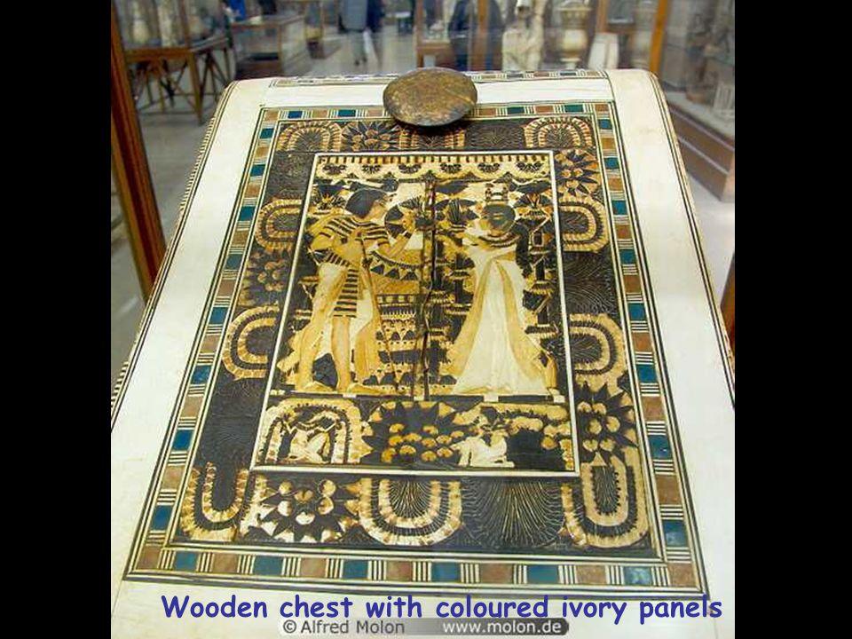 From Tutankhamun's treasures