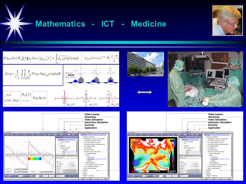 Mathematics - ICT - Medicine
