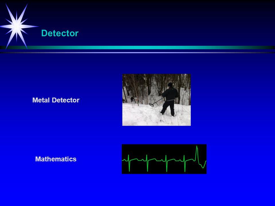Detector Metal Detector Mathematics