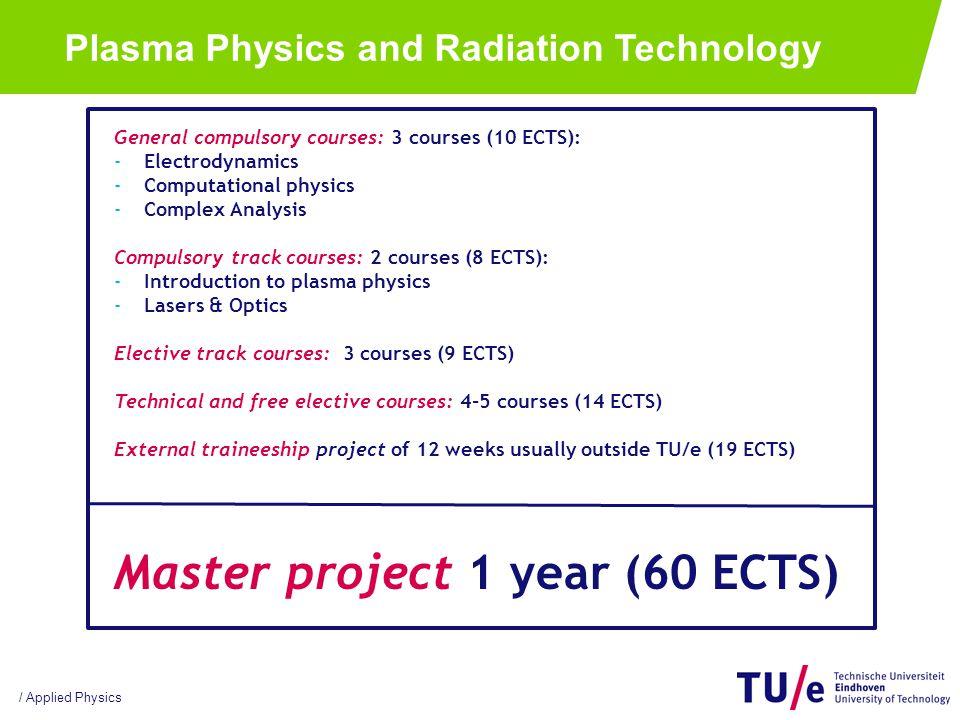 / Applied Physics Staff: Prof.dr.ir.Gerrit Kroesen Dr.ir.
