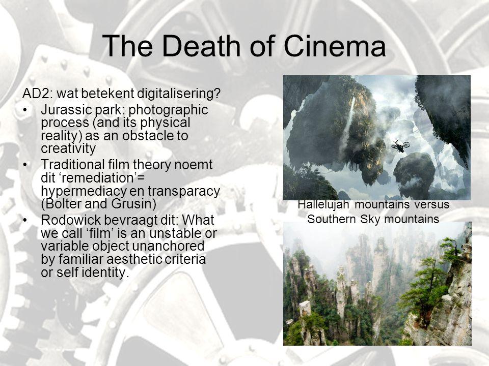 The Death of Cinema AD2: wat betekent digitalisering.
