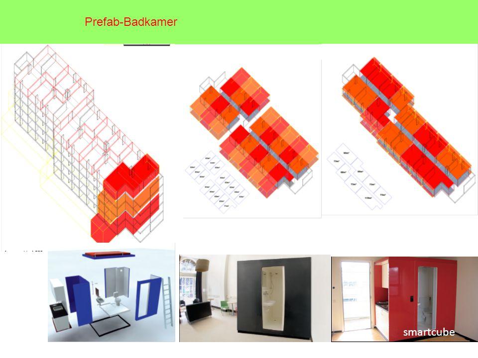 smartcube Prefab-Badkamer