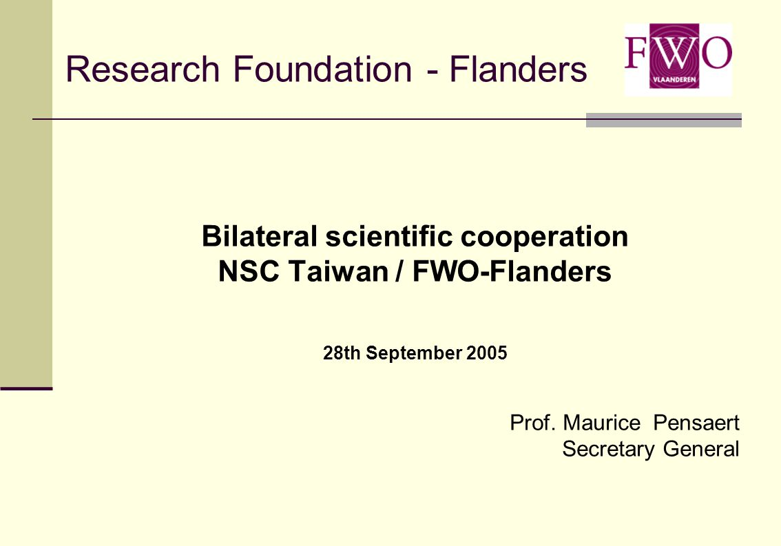 Belgium 2 independent research foundations: Flanders + Brussels (part): FWO-Vlaanderen Wallonia + Brussels (part): FNRS Different community governments Different funding decisions