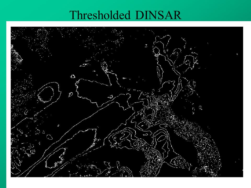 Thresholded DINSAR