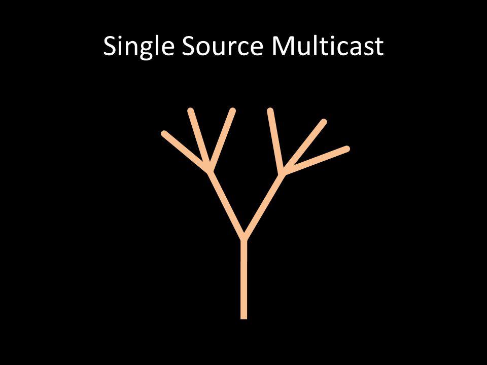 Single Source Multicast