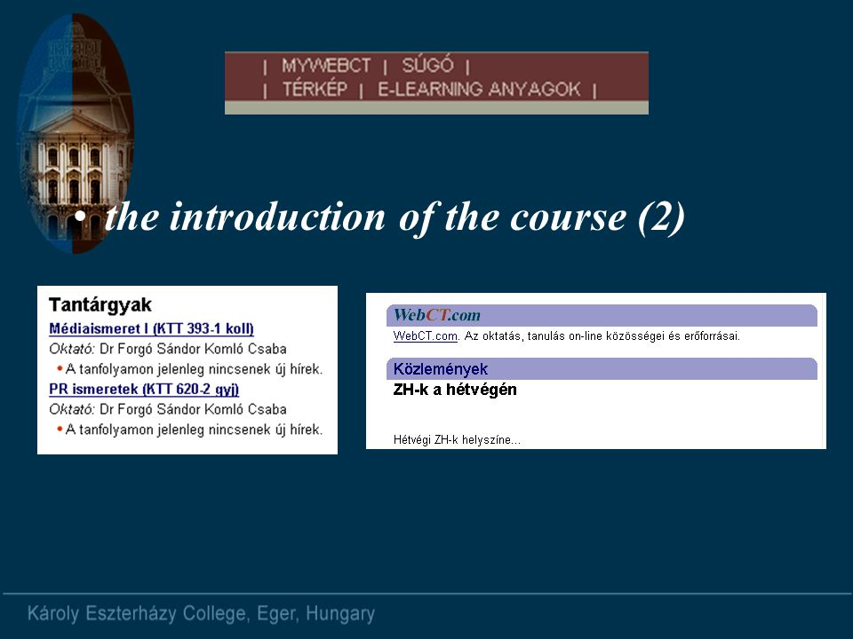 the introduction of the course (2)