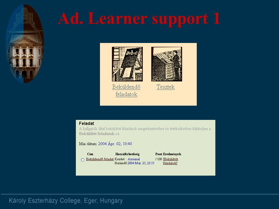 Ad. Learner support 1