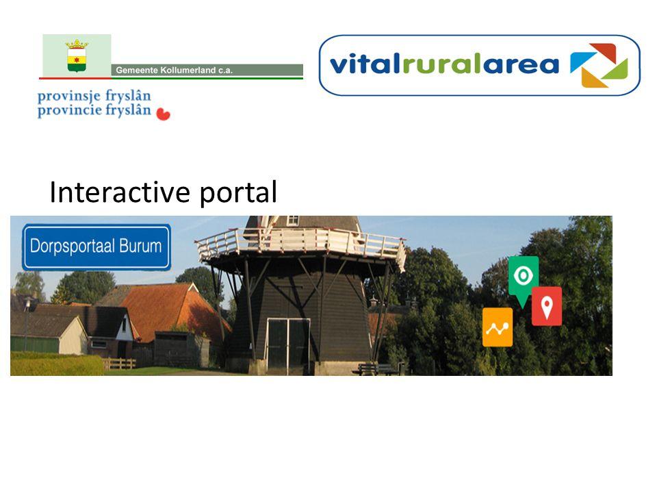 Interactive portal