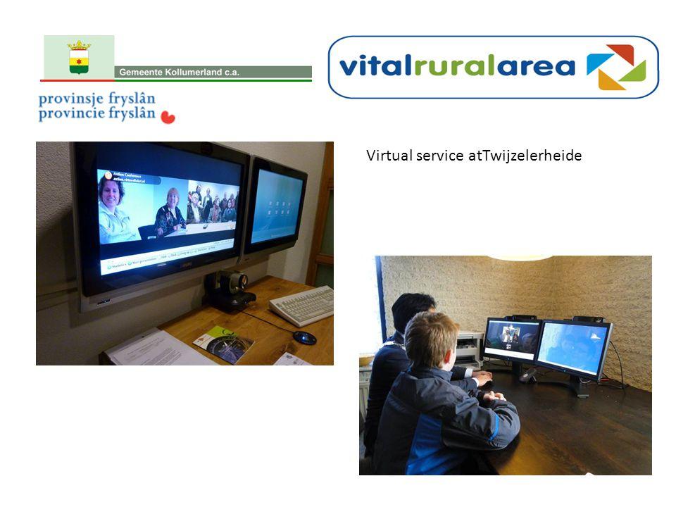 Virtual service atTwijzelerheide