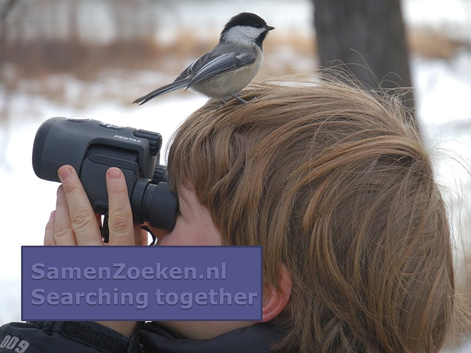 SamenZoeken.nl Searching together