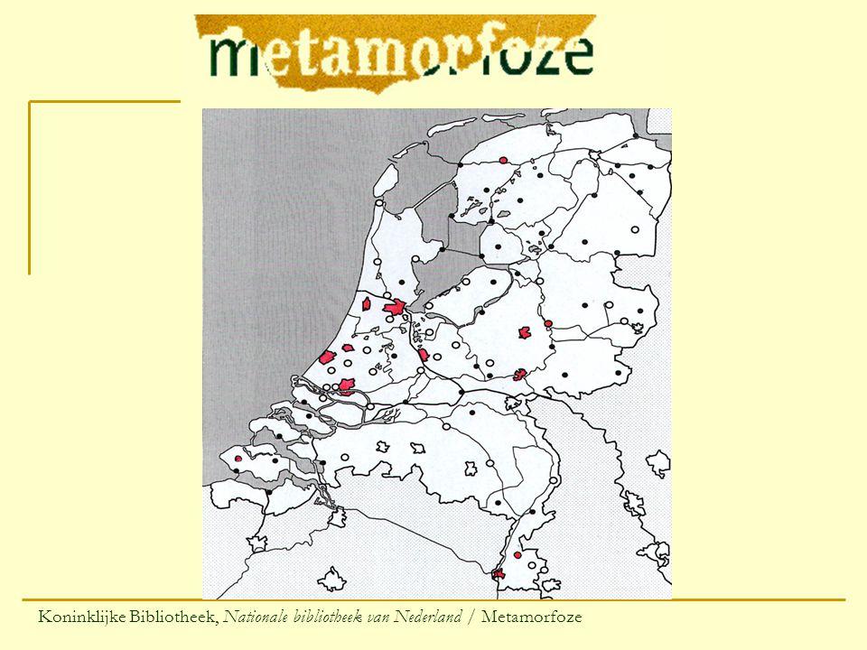 Koninklijke Bibliotheek, Nationale bibliotheek van Nederland / Metamorfoze