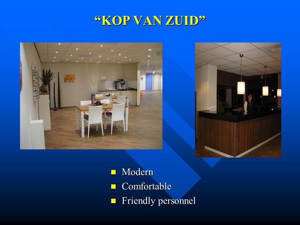 KOP VAN ZUID Modern Comfortable Friendly personnel