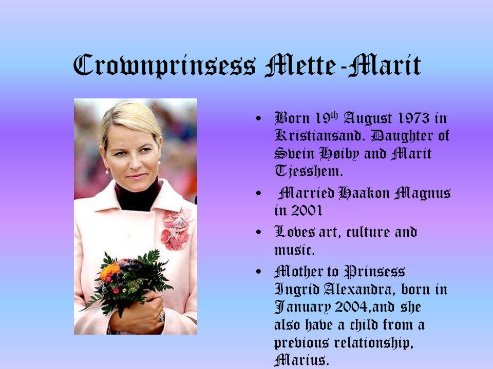 Prinsess Ingrid Alexandra Daughter of krownprince Haakon Magnus and krownprinsess Mette- Marit.