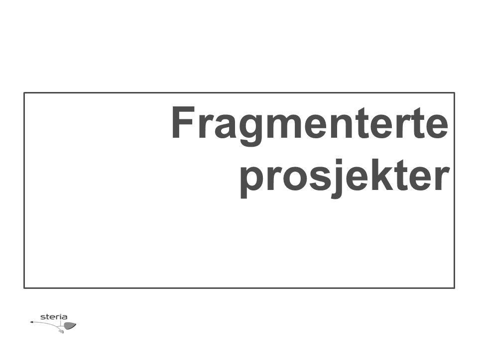 Fragmenterte prosjekter