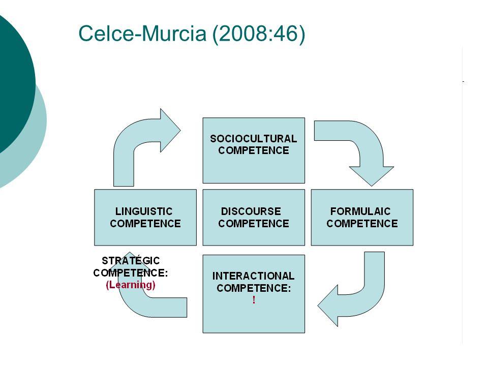 Celce-Murcia (2008:46)