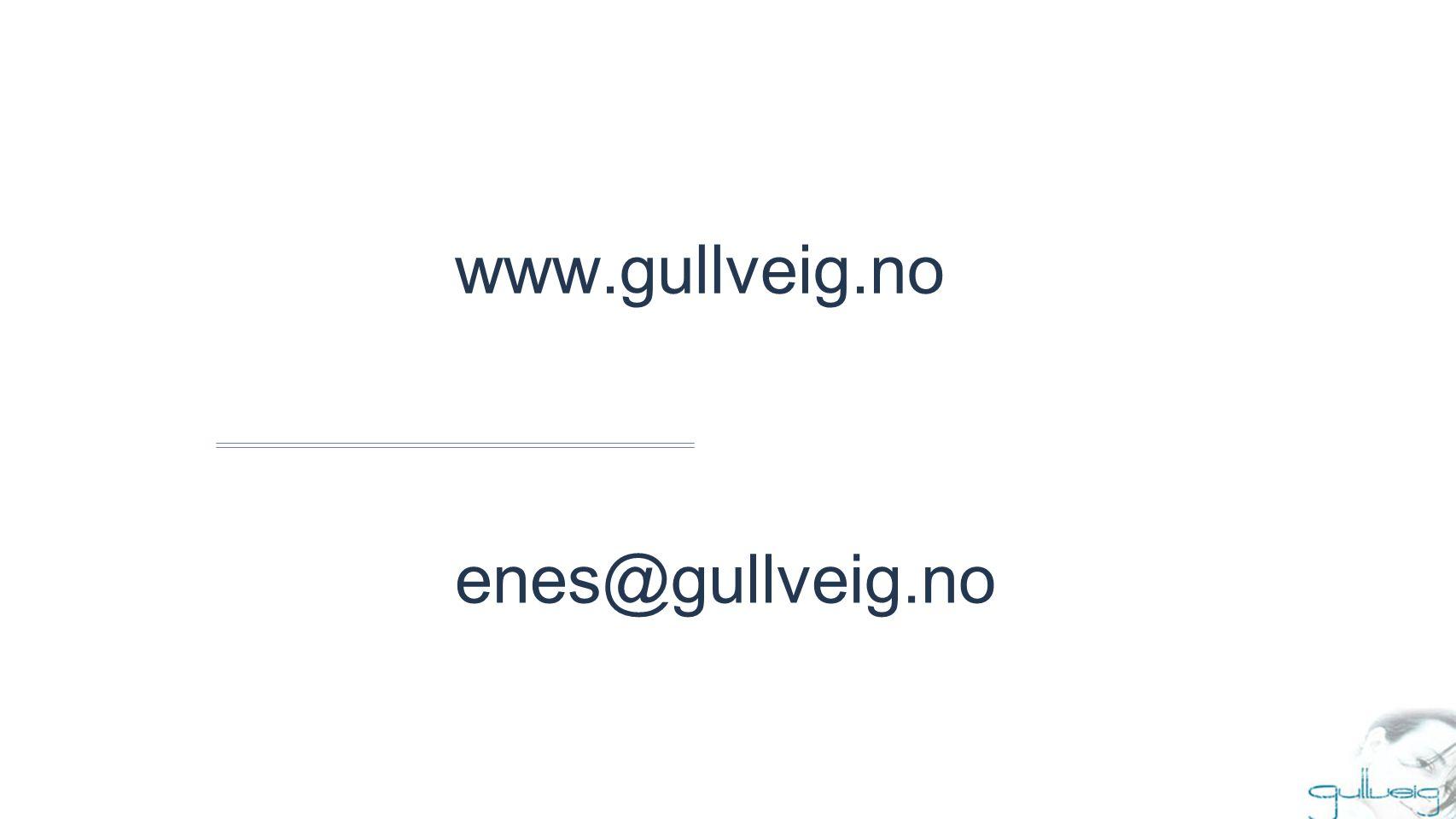 www.gullveig.no enes@gullveig.no