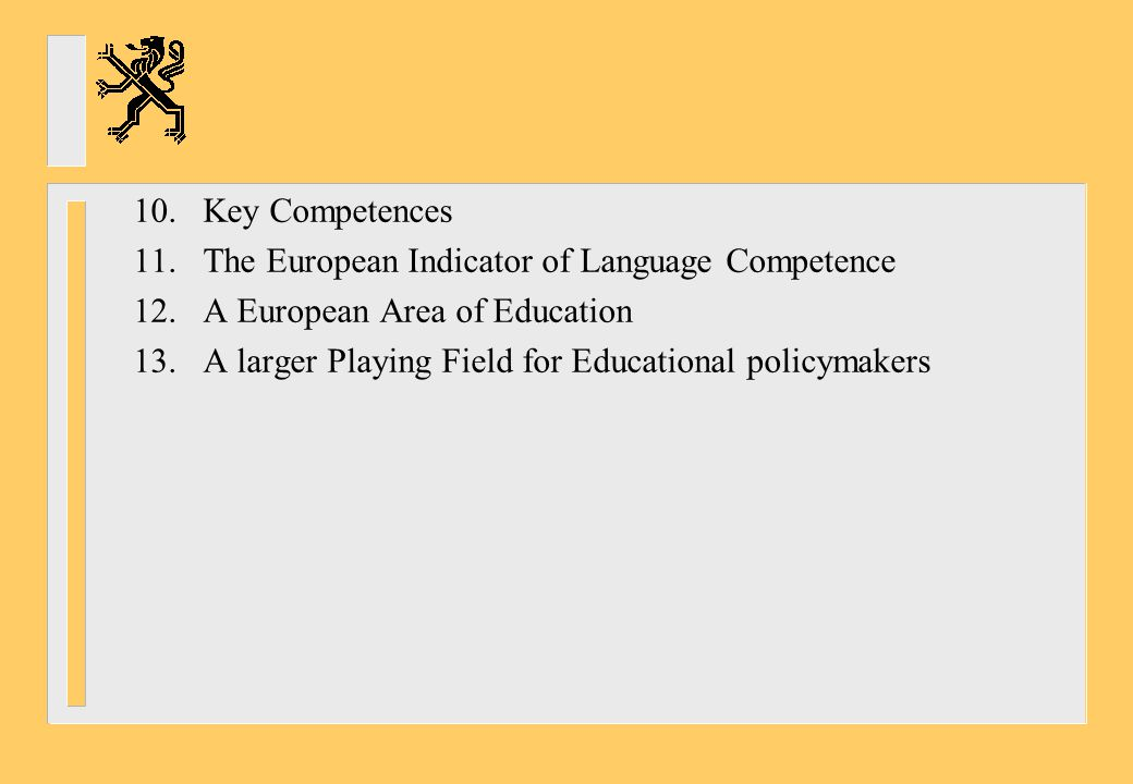 13.A larger playing field for educational policymakers .