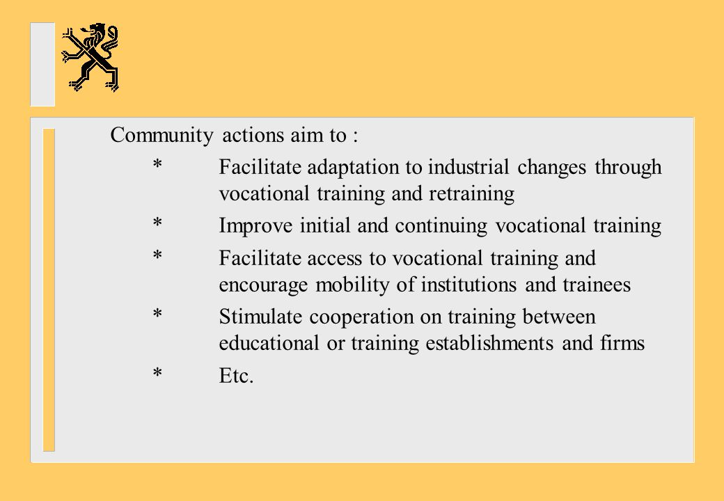 *Indicators to measure progress -Shortage/surplus of qualified teachers -Number of applicants for training programmes -% of teachers who follow in-service- training *Themes for exchange of good practice and organisation of peer review -Evaluation of training programmes for teachers -Conditions for becoming a teacher