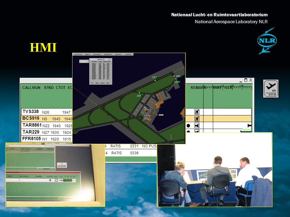 Nationaal Lucht- en Ruimtevaartlaboratorium National Aerospace Laboratory NLR Simplified model runway assignment runway SID structure 2 min.