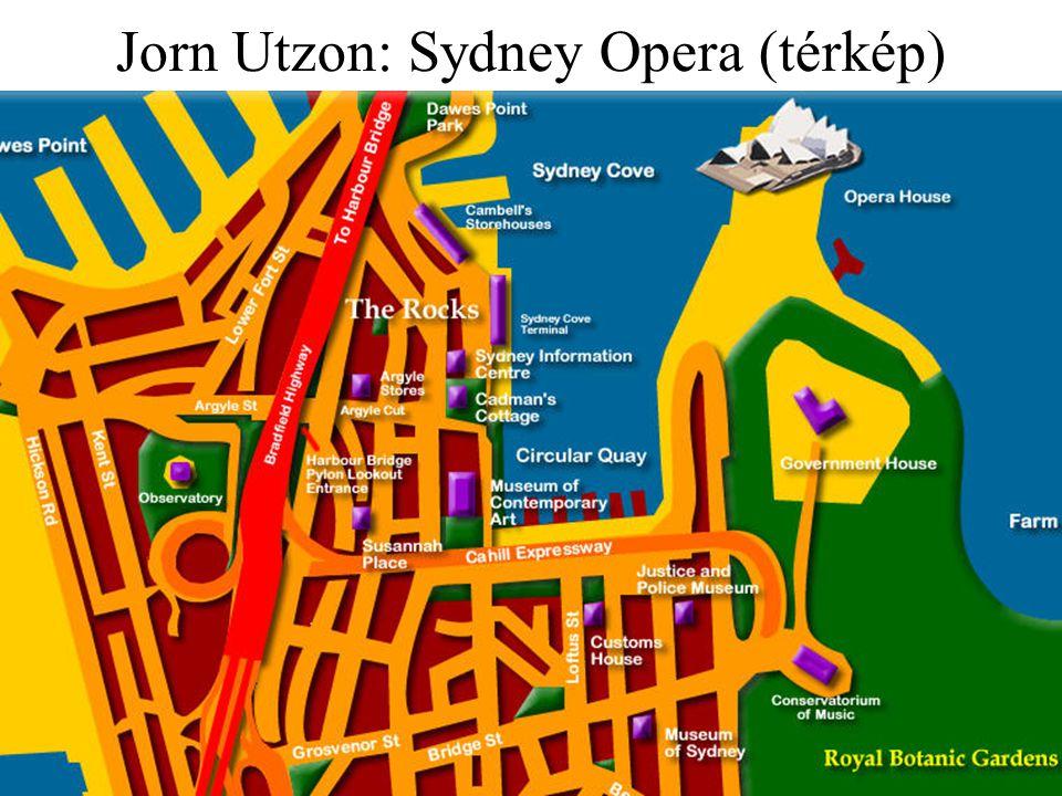 Jorn Utzon: Sydney Opera (térkép)