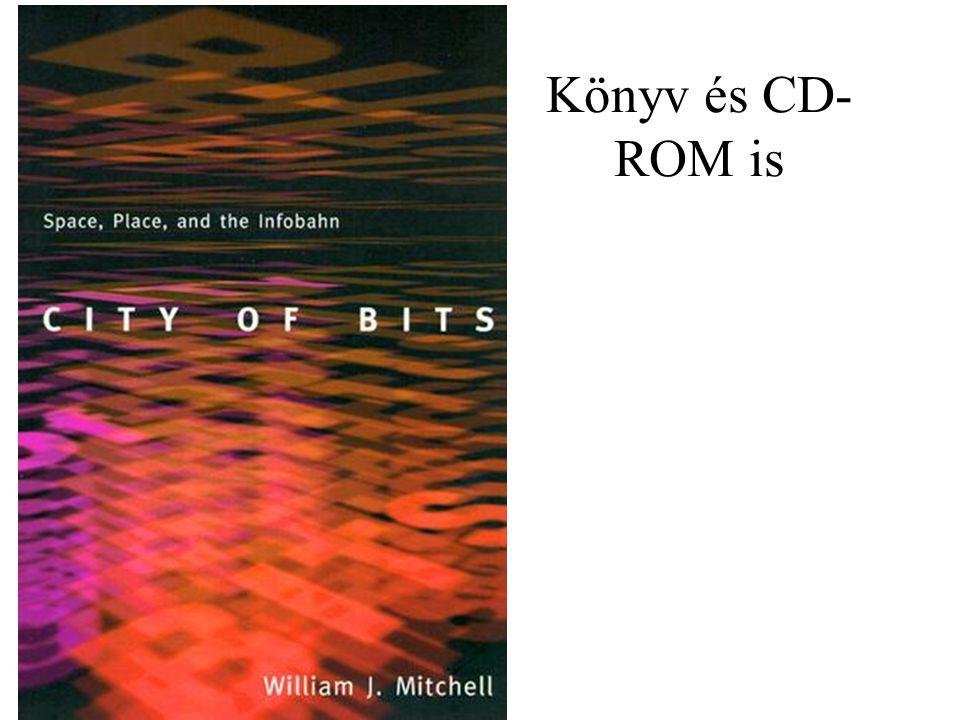Könyv és CD- ROM is