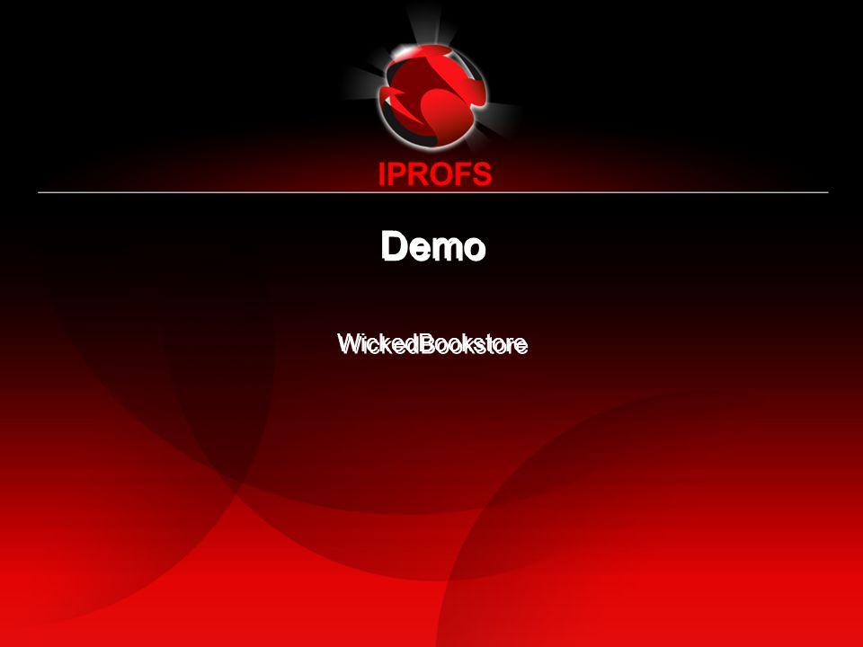 Demo WickedBookstore