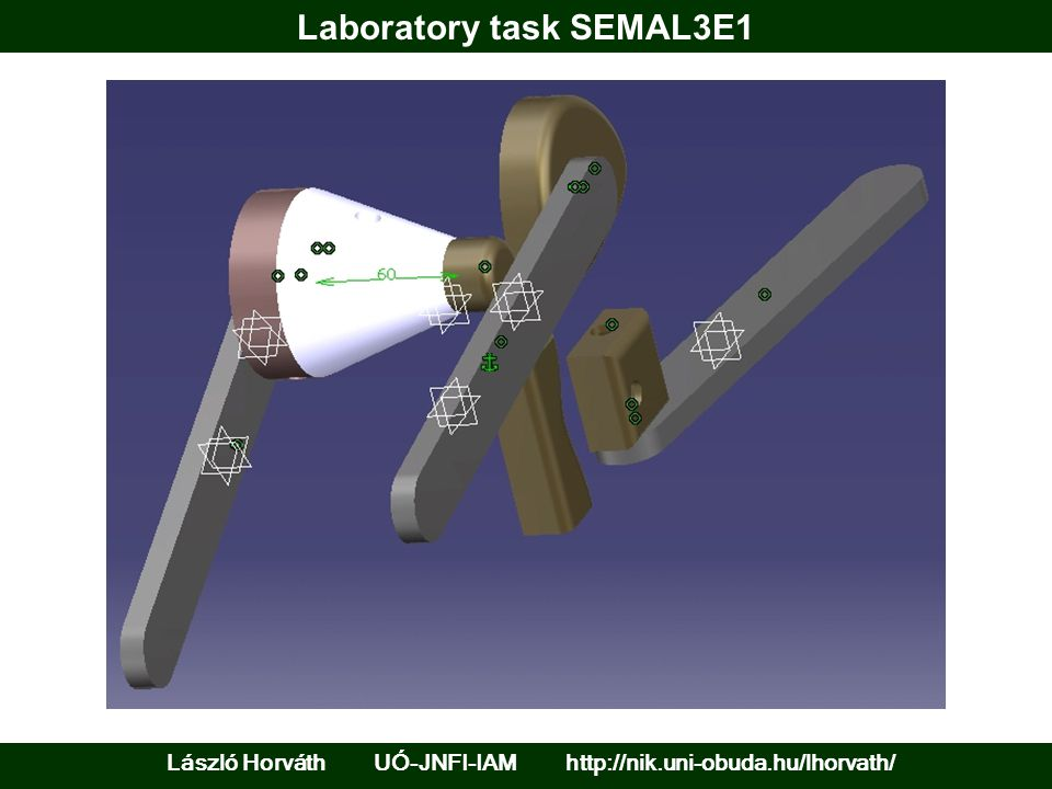 Laboratory task SEMAL3E1 László Horváth UÓ-JNFI-IAM http://nik.uni-obuda.hu/lhorvath/