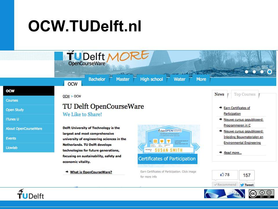 OCW.TUDelft.nl