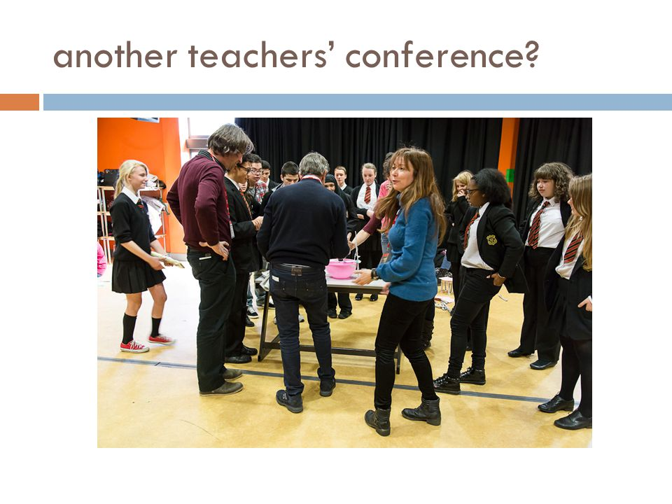 another teachers' conference?