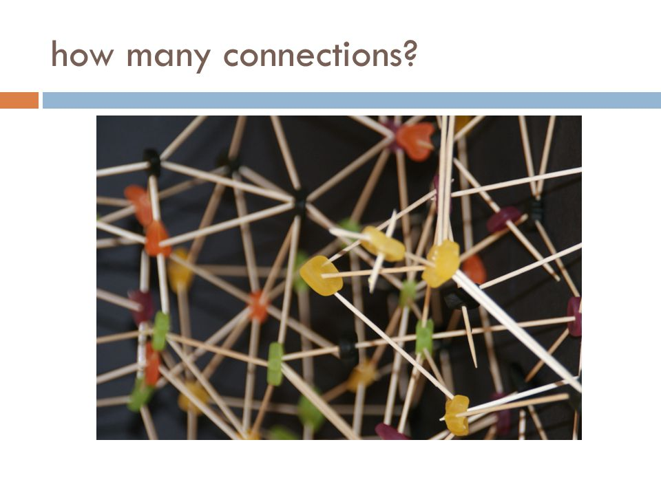 how many connections