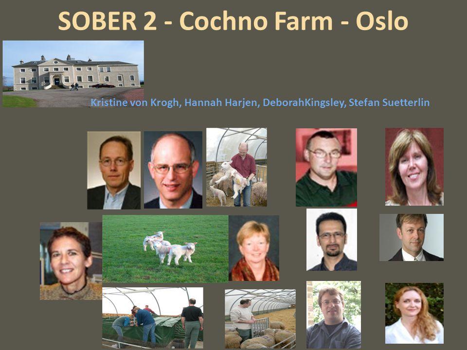 SOBER 2 - Cochno Farm - Oslo Kristine von Krogh, Hannah Harjen, DeborahKingsley, Stefan Suetterlin