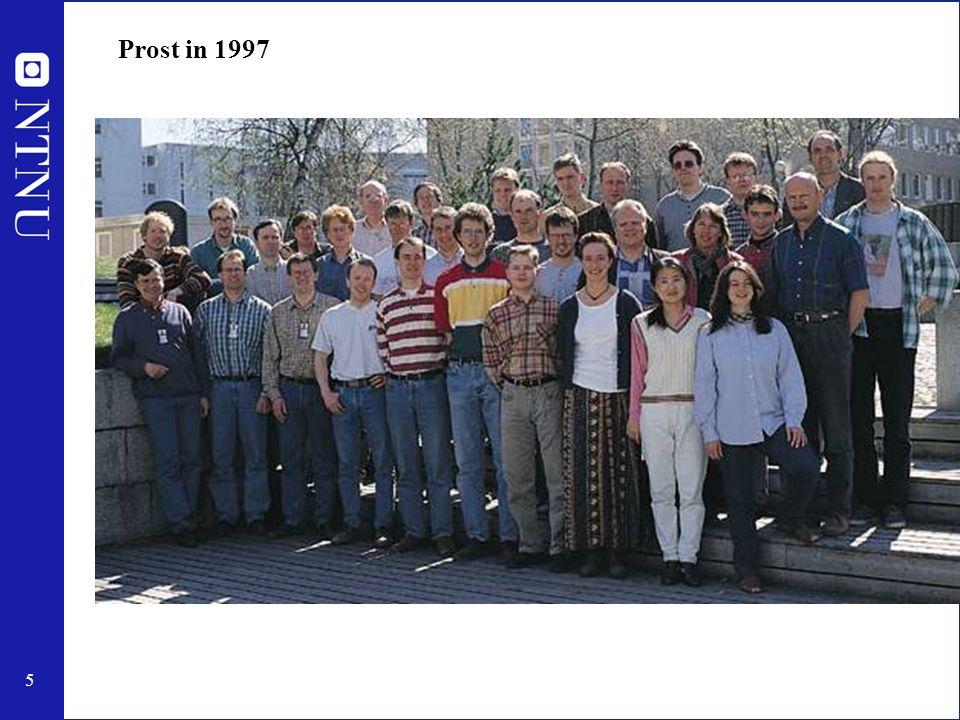 5 Prost in 1997