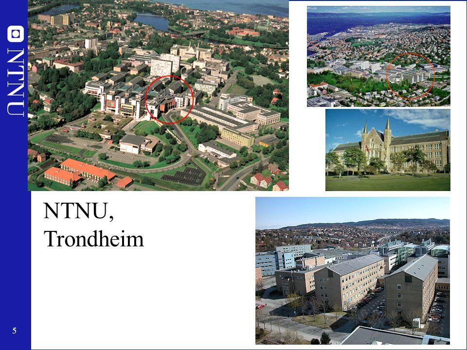 5 NTNU, Trondheim
