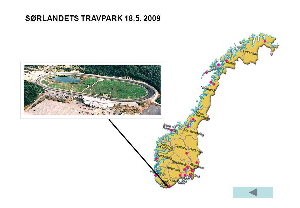SØRLANDETS TRAVPARK 18.5. 2009