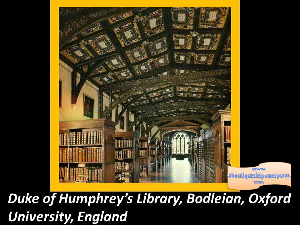 Duke of Humphrey's Library, Bodleian, Oxford University, England