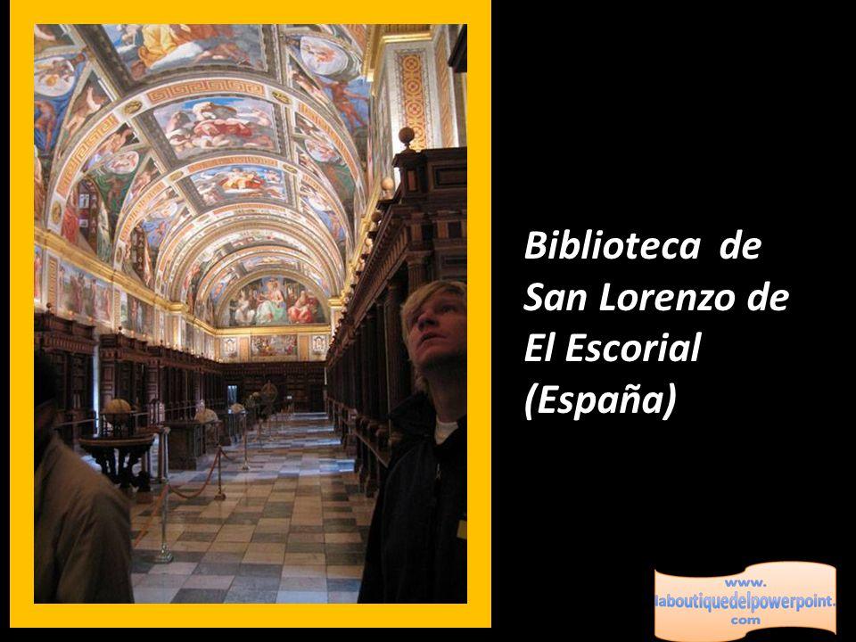 Biblioteca de San Lorenzo de El Escorial (España)
