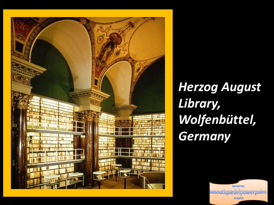 Sansovino Library, Rome, Italy