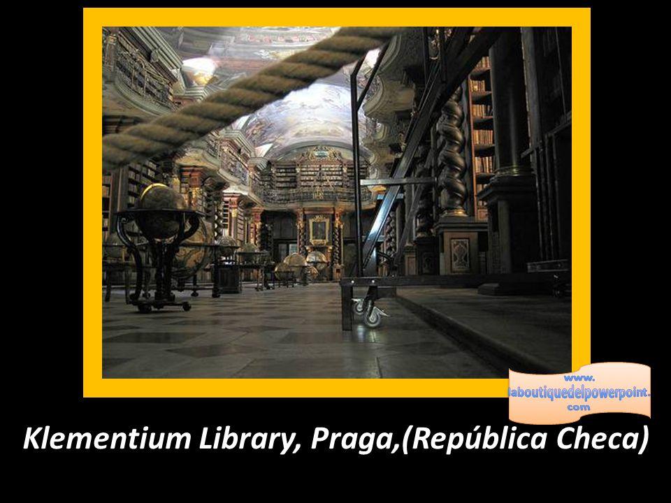 Klementium Library, Praga,(República Checa)