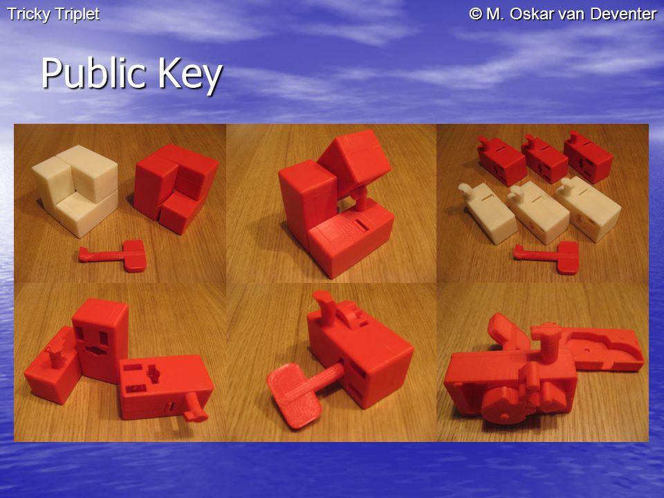 © M. Oskar van Deventer Public Key Tricky Triplet